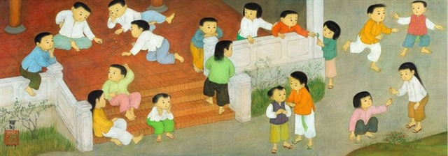 Vietnamese paintings to be auctioned in Paris