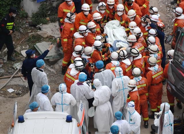 China quarantine hotel collapse toll rises to 26