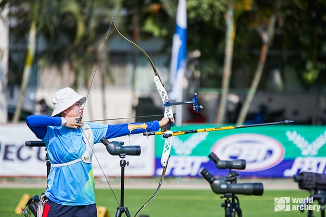 Archers advance to five finals at Bangkok Asia Cup