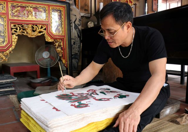 Dossier on Đông Hồ folk painting completed to seek urgent protection