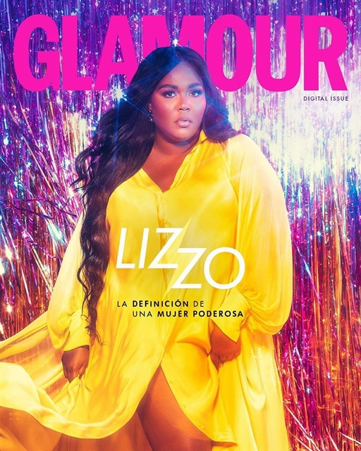 Rapper Lizzo shines in silk dress created by Vietnamese designer
