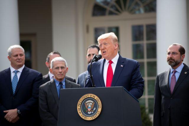 Trump declares coronavirus national emergency