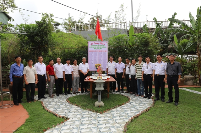 Memorial service honours martyrs of Gạc Ma Reef
