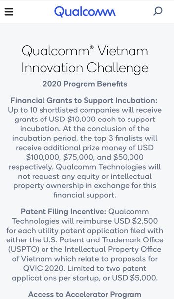 Qualcomm unveils innovation contest