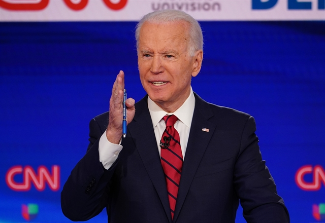Biden scores big wins in Florida Illinois on virus-hit primary night