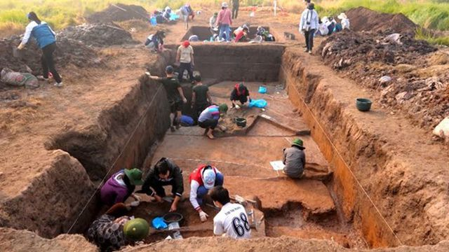 Culture ministry permits another excavation at Vườn Chuối site