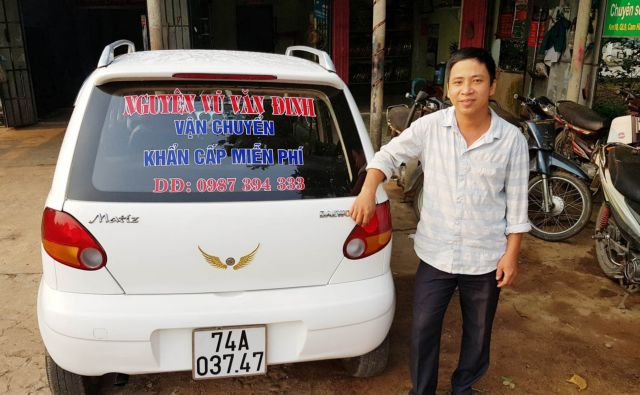 Mechanic devotes life to charity workin Quảng Trị