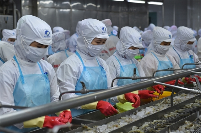 Pandemic has little impact on Việt Nams shrimp exports