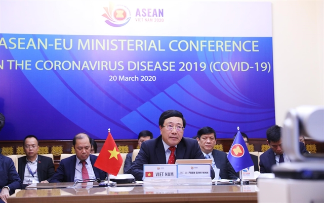 ASEAN EU strengthen cooperation fight against COVID-19