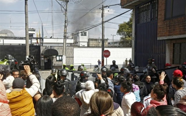 Riot in Colombia prison over virus fears leaves 23 dead