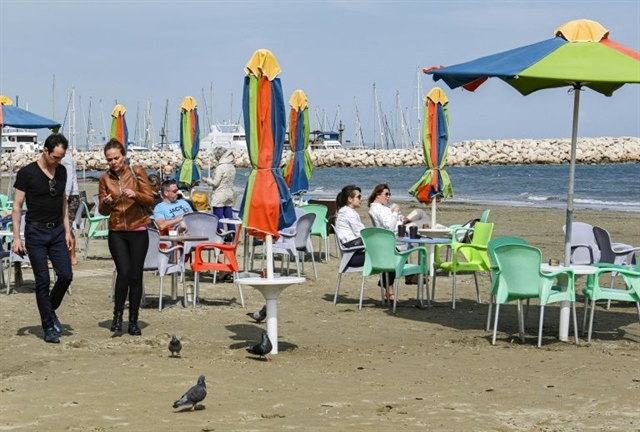 Cyprus says beaches parks off limits to fight virus
