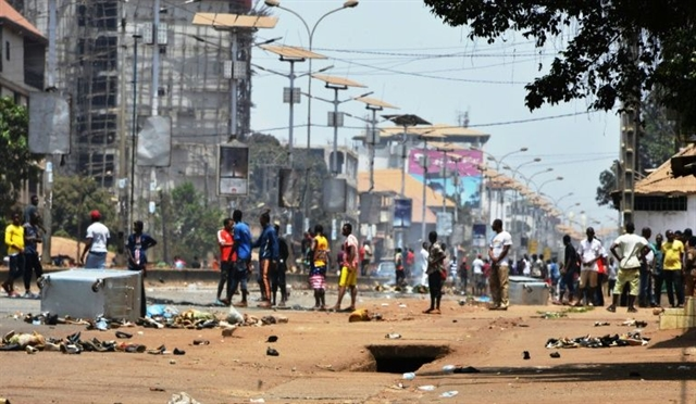 Several dead in unrest in southern Guinea