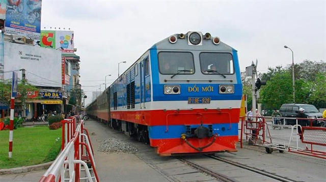 Việt Nam Railway suspends some passenger trains due to virus