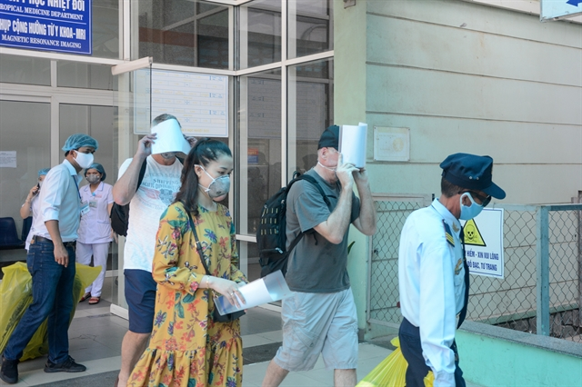 Three COVID-19 patients in Đà Nẵng released from hospitals