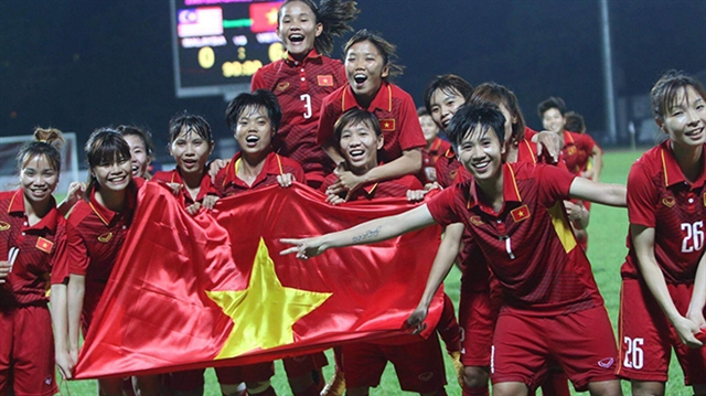 Việt Nam women No 35 in world top in ASEAN