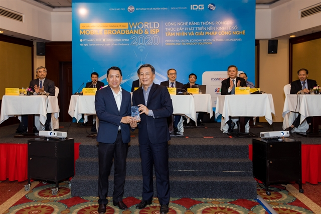 VNPT  MobiFone receive broadband service awards