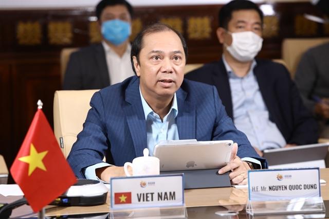 ASEAN discusses response to COVID-19