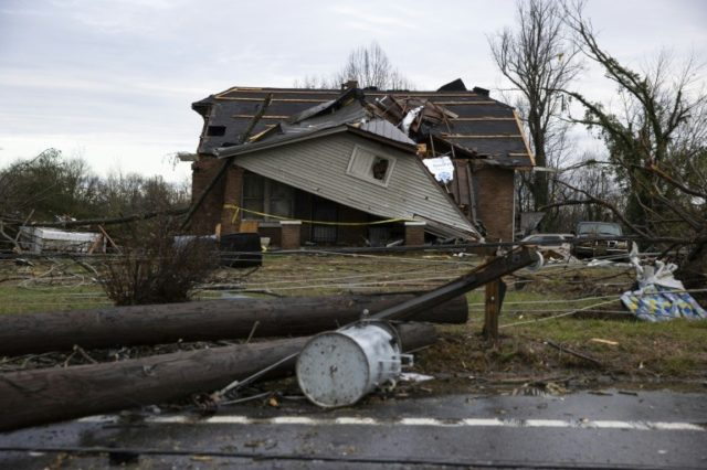 Tornadoes tear though Tennessee 25 dead