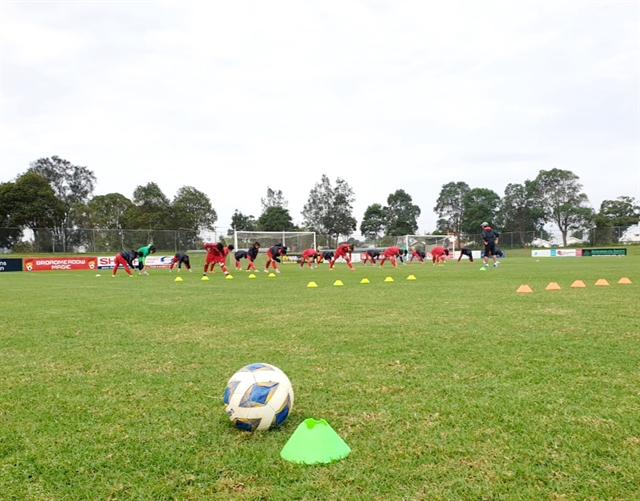 VN face uphill task againstAustralia in Olympic play-off