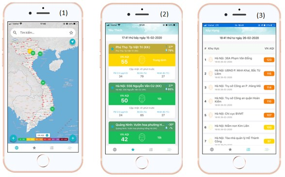 New app to monitor air quality launched