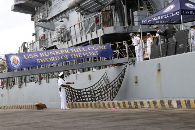 US naval ships visit to Việt Nam helps promote bilateral ties