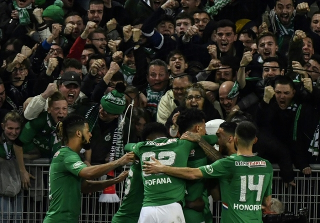 Saint-Etienne into French Cup final for first time since 1982
