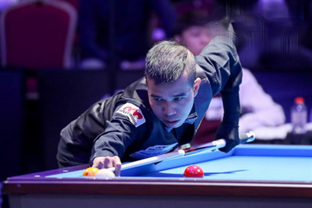 Chiến to vie for huge prize at 3-cushion McCreery tournament