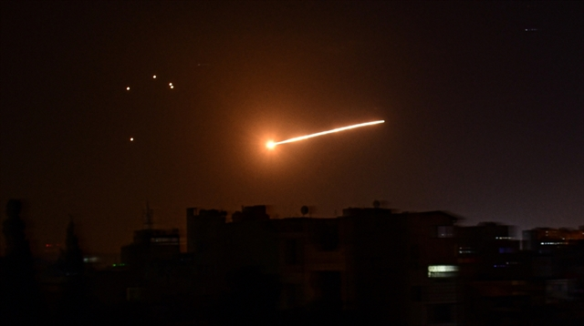 Syria air defences down Israeli missiles: state media
