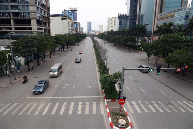 Hà Nội on first day of nationwide social distancing