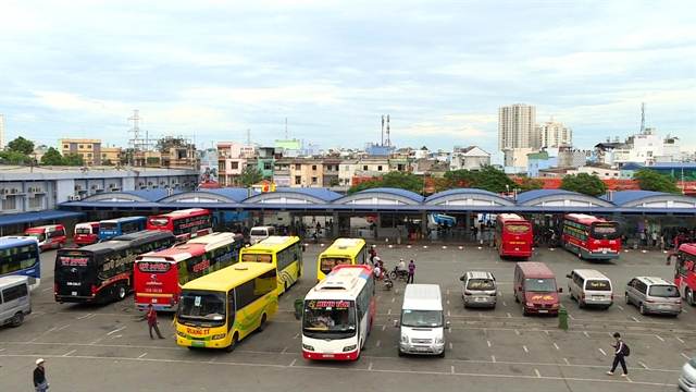 HCM City suspends operation of service vehicles