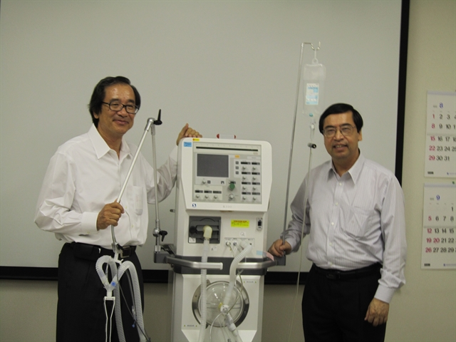 Japanese firm to make 15000 ventilators to help VNs COVID-19 response