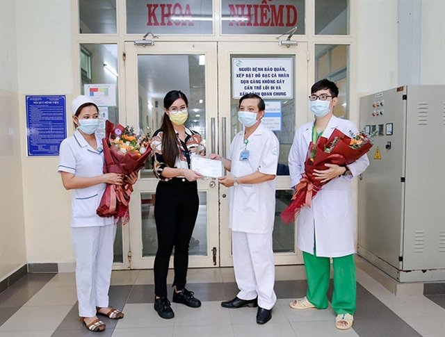 Việt Nams 32nd COVID-19 patient discharged confirms will lead charity fund