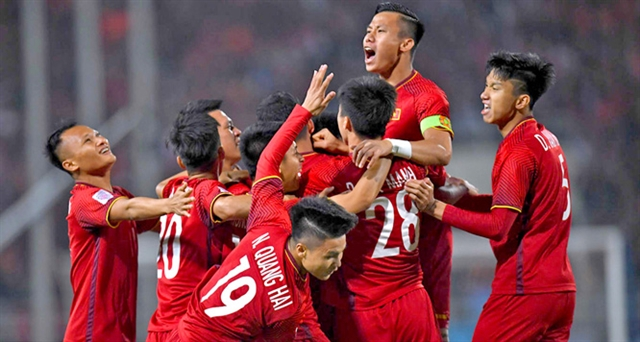 Việt Nam national team in top 15 in Asia