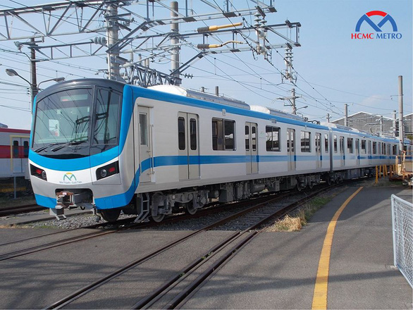 Citys first metro line trains under final technical check in Japan