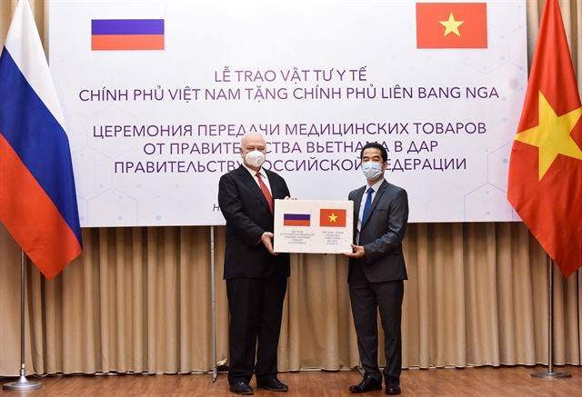 Việt Nam gifts 150000 face masks to Russia
