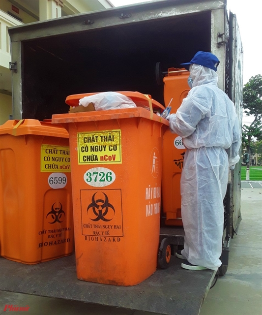 Proper medical waste control helps reduce spread of disease