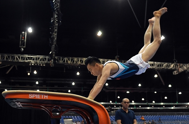 Olympics delay helps medal chance says gymnast Tùng