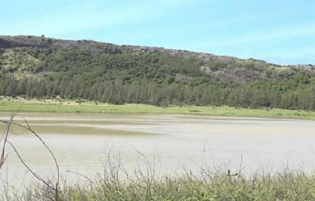 Quảng Ngãis reservoirs suffer low water levels