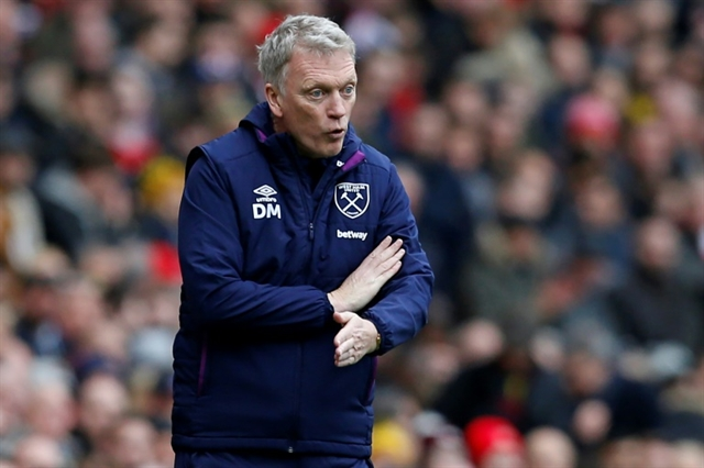 Hammers boss Moyes fears injury pile-up if Premier League resumes