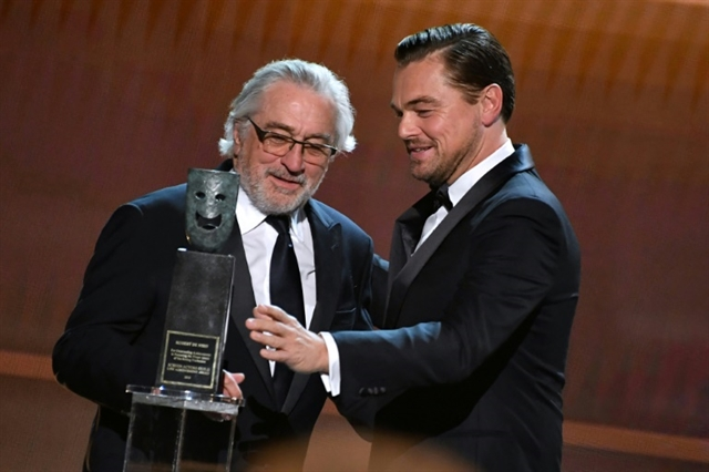 DiCaprio and De Niro seek co-star in virus charity drive