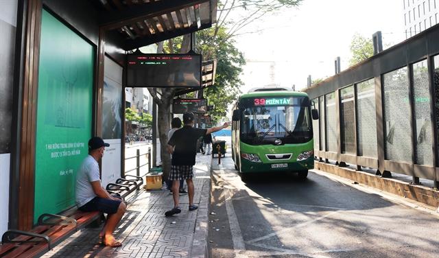 HCM City extends suspension of public transport until April 22