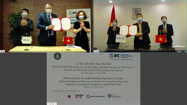 IFC works with Việt Nam to expand export markets for agricultural produce