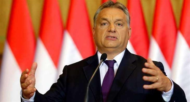 Hungarys Orban seeks backing of EU right for emergency powers