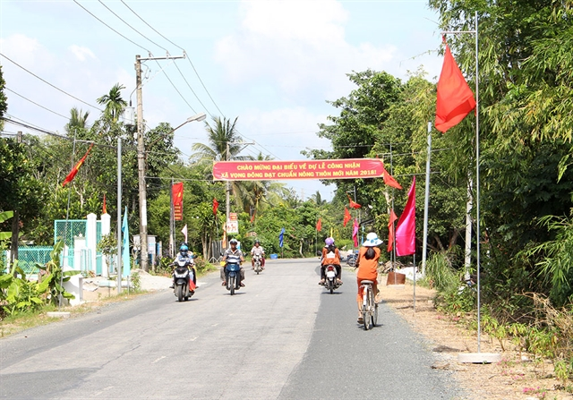 An Giang to raise over 275m for new-style rural area building