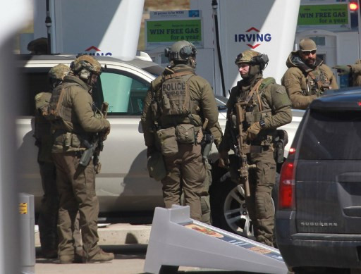 At least 13 killed in Canada rampage suspect dead