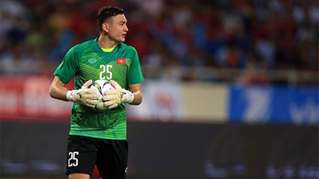 Keeper Lâm may miss chance to defend AFF Cup title