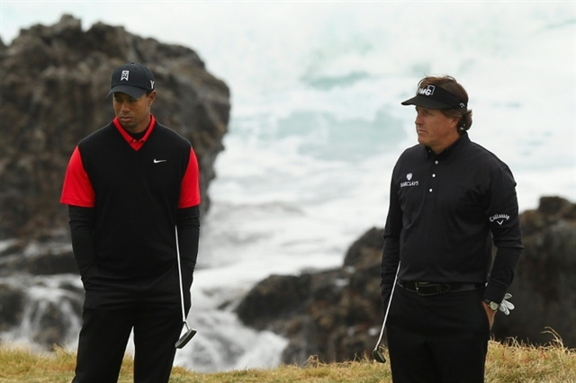 Woods and Mickelson could join Brady and Manning for May match