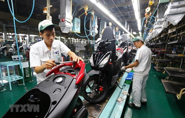 Honda Vietnam resumes automobile bike production from today