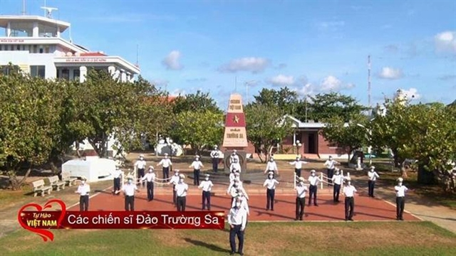 Trường Sa soldiers perform in COVID-19 music video
