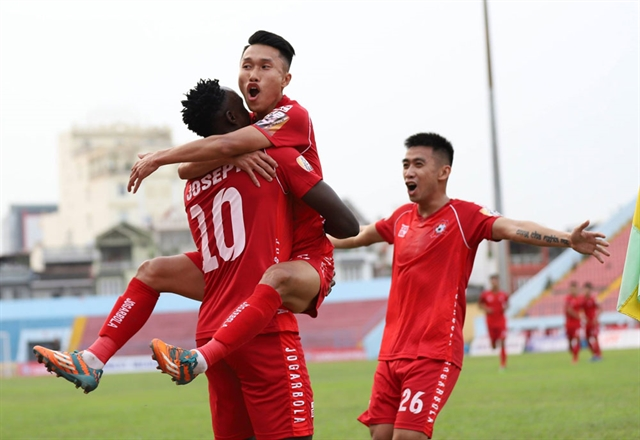 Hải Phòng want National Cup match delayed
